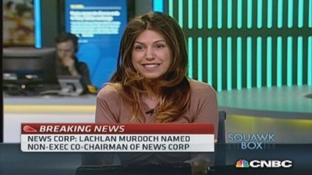News video: Lachlan Murdoch named co-chair of News Corp